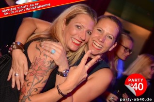 Party ab 40 • September 2016