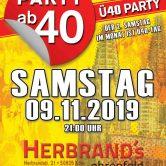 PARTY AB40 • Kölns größte Ü40 Party