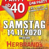 PARTY AB40 • Kölns größte Ü40 Party im November