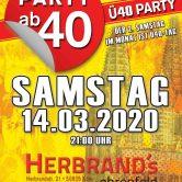 PARTY AB40 • Kölns größte Ü40 Party im März