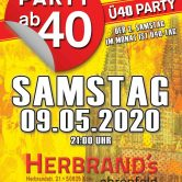 PARTY AB40 • Kölns größte Ü40 Party im Mai