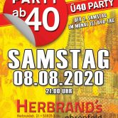 PARTY AB40 • Kölns größte Ü40 Party im August